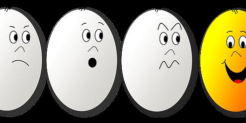egg gezichtjes